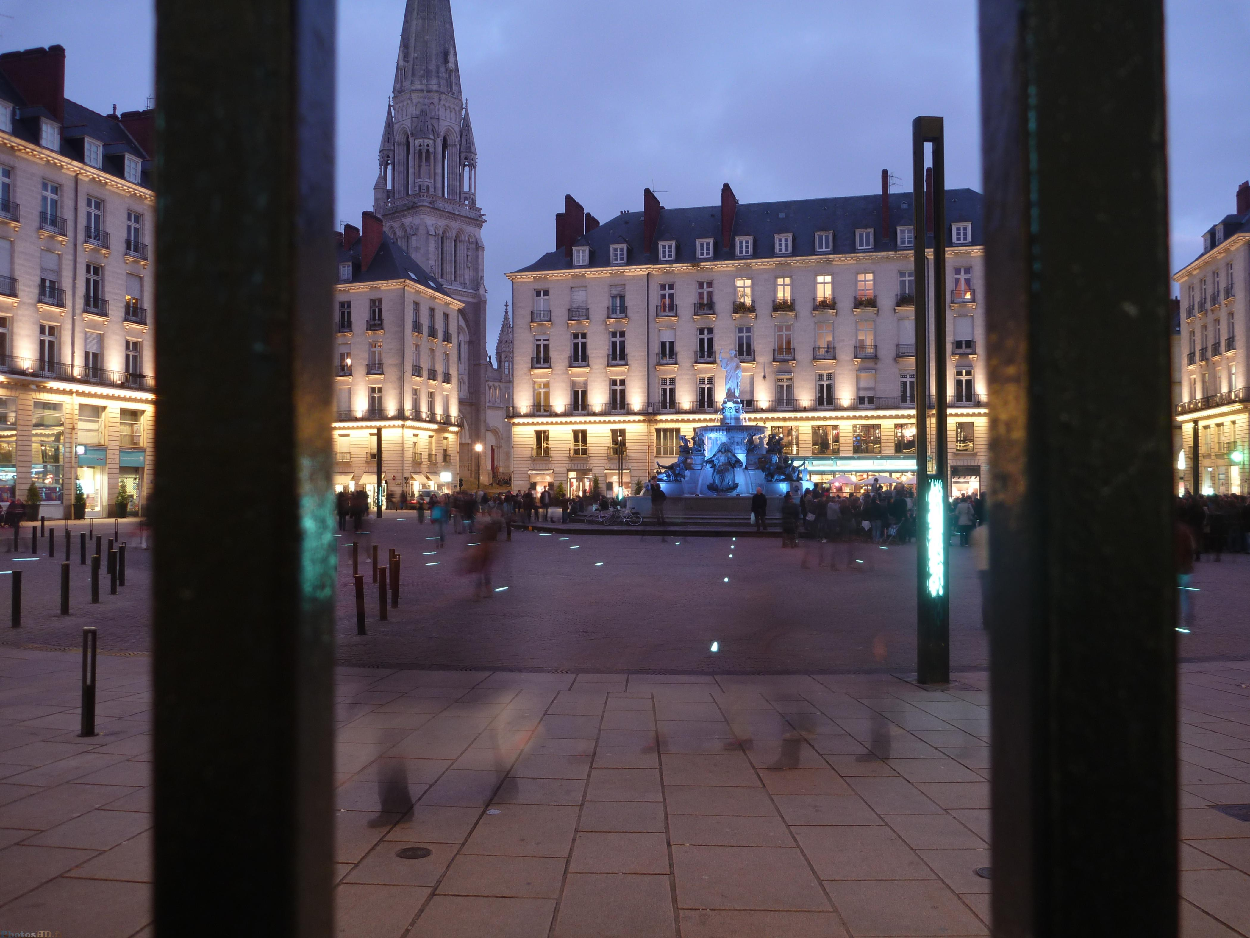 Place royal à Nantes